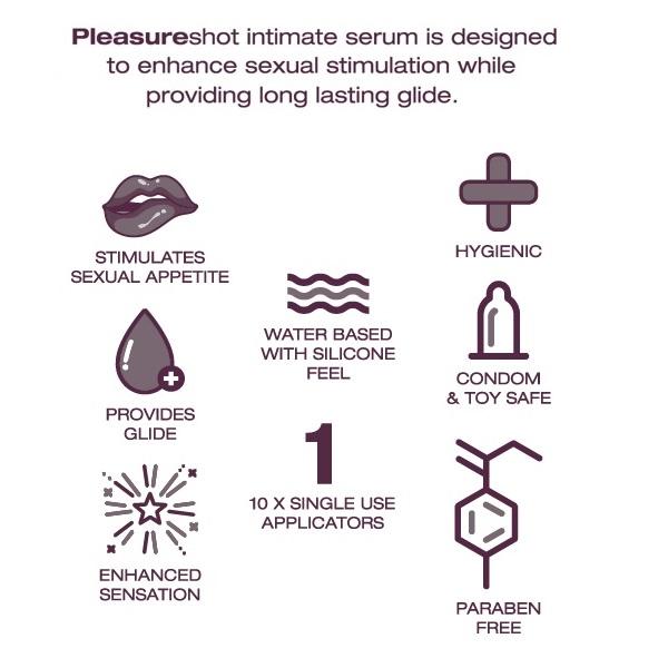 1099 – PLEASURESHOT – INTIMATE SERUM 3