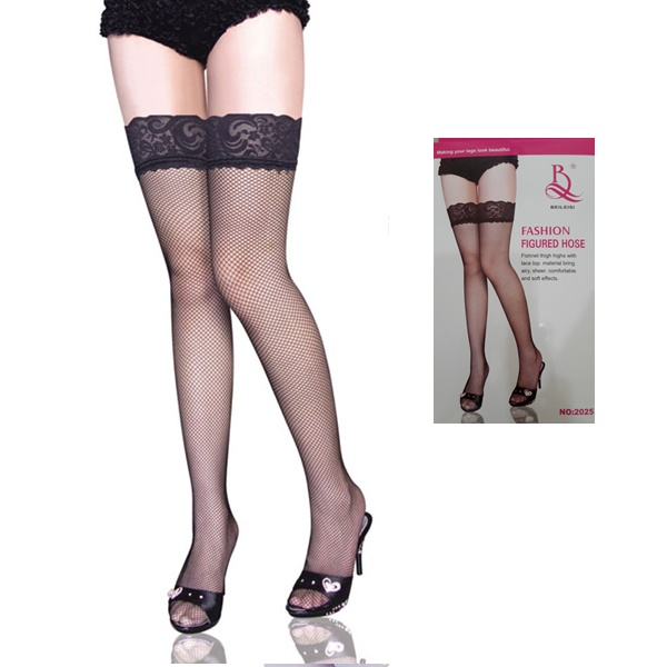 1264 – BEILEISI -THIGH HIGH FISHNET 2025 1