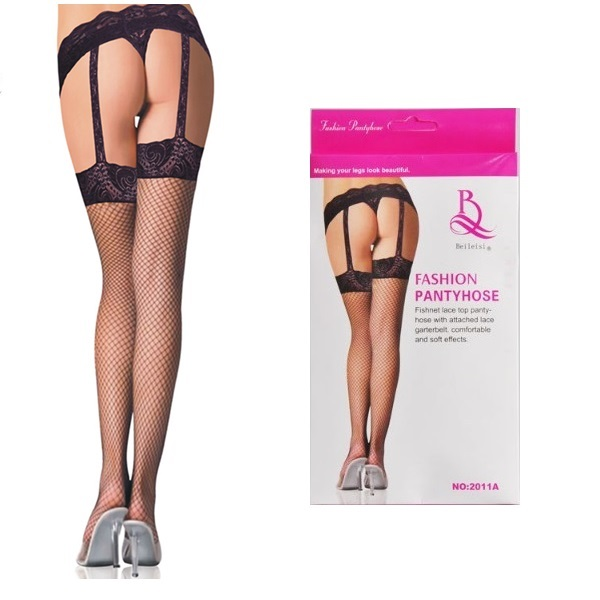 2639 – BEILEISI – THIGH – FISHNET& LACE GARTER 1