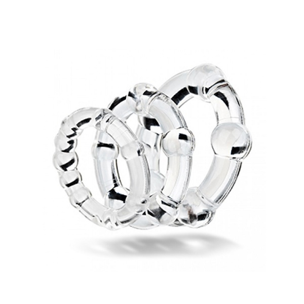 1216 – Get Hard Silicon 3pc love rings 2