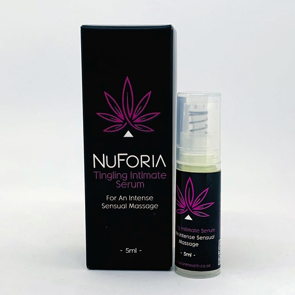 NUFORIA CBD INFUSED INTIMATE SERUM 1