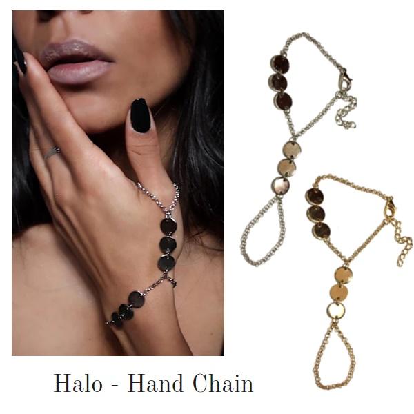 1825 – Drizzle Hand Chain 2