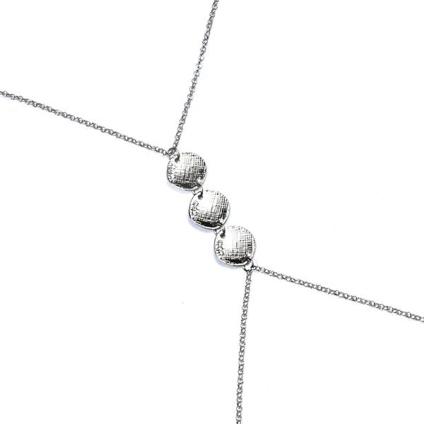 1827 – Drizzle BODY Chain GLADIATOR SILVER