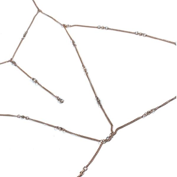 1829 – Drizzle BIKINI Chain Bali Gold