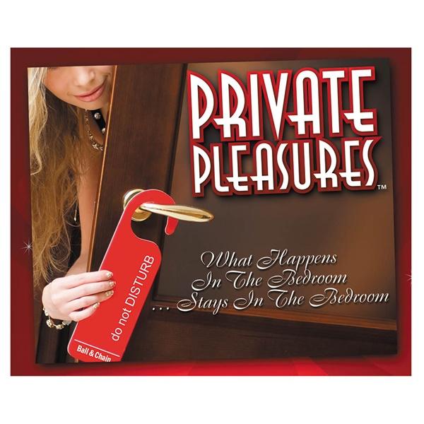 PRIVATE PLEASURES 3