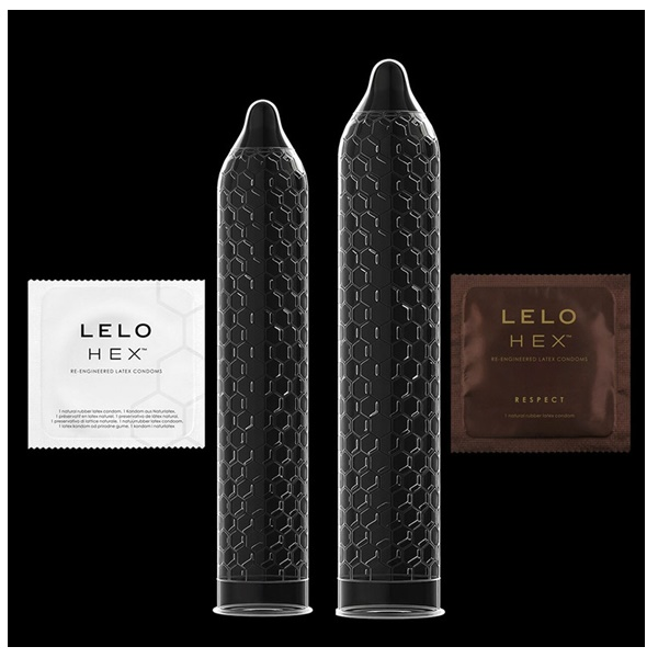 1013 – LELO HEX RESPECT XL CONDOMS – 3 PACK 5