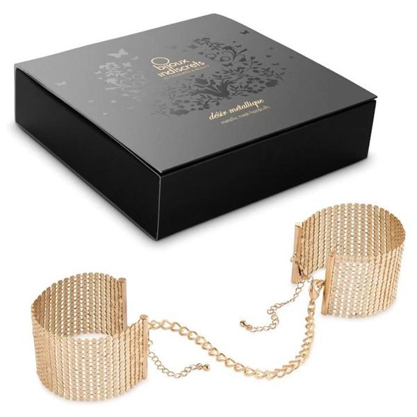 1187 – Bijoux Indiscrets Metallique Mesh Handcuffs 1
