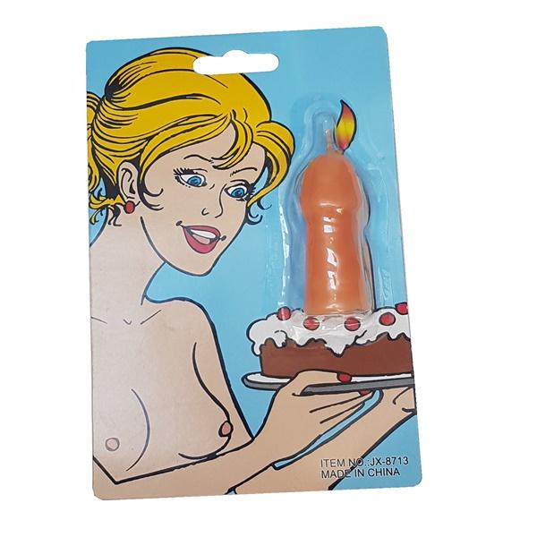 2104 – Penis Candle Single 1