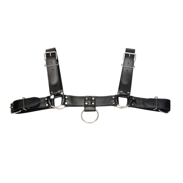 2113 – SECRET PLAY – LEATHER MALE HARNESS 1