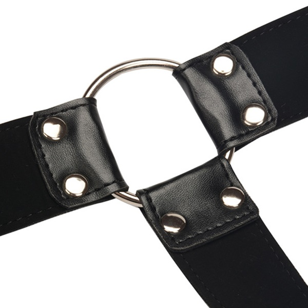 2113 – SECRET PLAY – LEATHER MALE HARNESS 4
